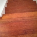 wooden stairs after picture